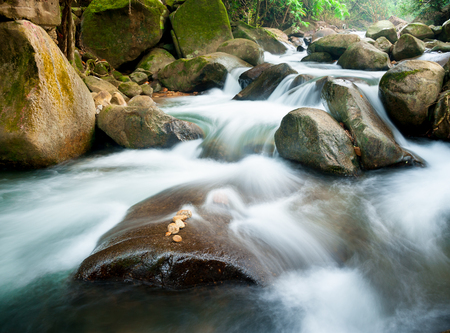 waterfall in national park Chanthaburi , thailand photo