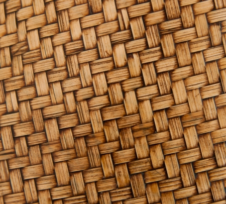 Old woven wood pattern photo