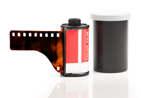 35mm film rolls photo