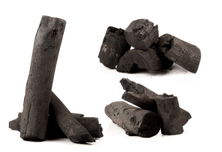 charcoal made of wood photo