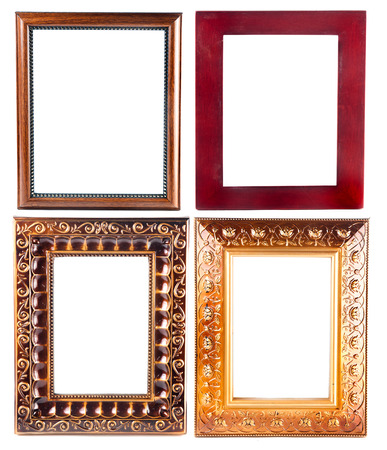 Set of Vintage gold picture frame photo