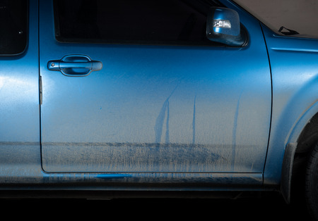 dirty: Dirty car