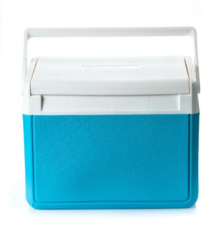 Handheld Blue refrigerator