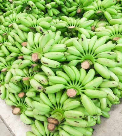 heap: Heap of green banana