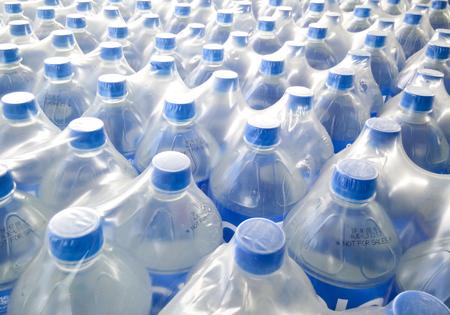 water bottles: Mineral water bottles - plastic bottles