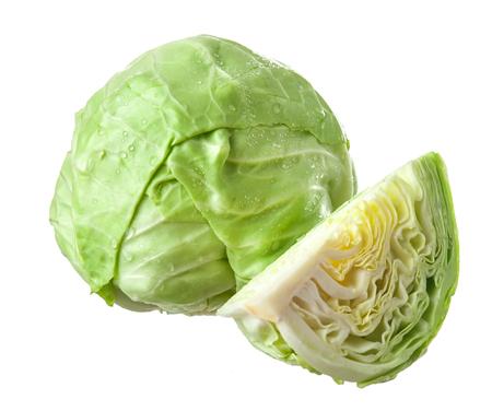 Cabbage isolated on white background