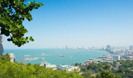 View of Pattaya, Thailand