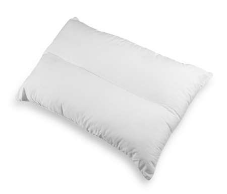 white pillow: white pillow isolated on white background