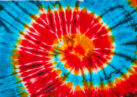 to dye: spiral tie dye design for background.