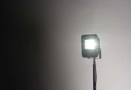 flash of light: studio background and flash light