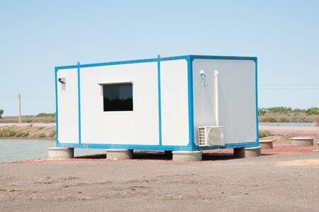 temporarily: Cargo container house