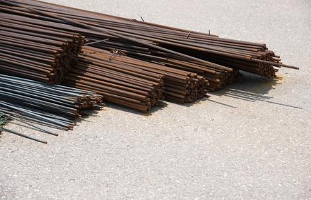 strenghten: Steel rods