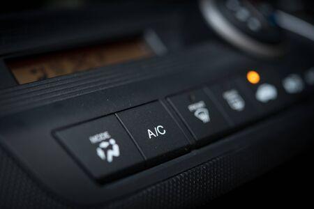 Aire acondicionado y sistema de calefacción en un automóvil.