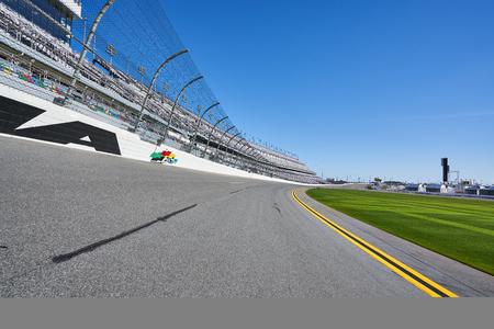 Racetrack near Grandstands at Daytona International Speedway