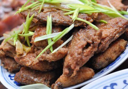 homemade style: homemade style octopus dish Stock Photo