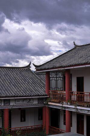 thou: Thou city in Lijiang, Yunnan, China