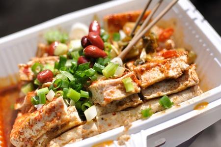 the local characteristics: Lijiang characteristic tofu