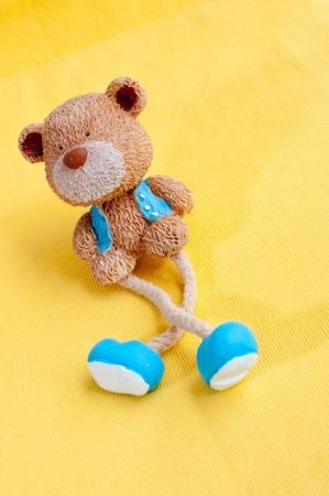 furnishing: Cartoon bear furnishing articles Stock Photo