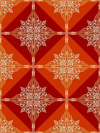 weldless: good-looking seamless pattern Stock Photo