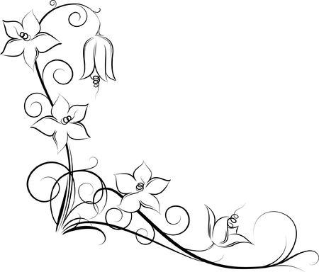 clip: floral corner