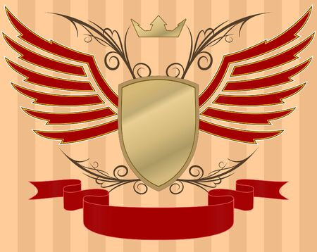 heraldic design photo