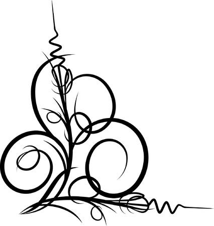 decorative corner Illustration