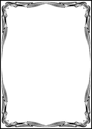 classical vector frame Stock Vector - 3017955