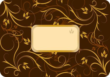 Frame for text Illustration