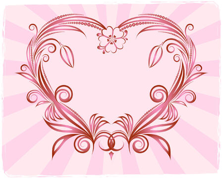 corazones: Hearts background