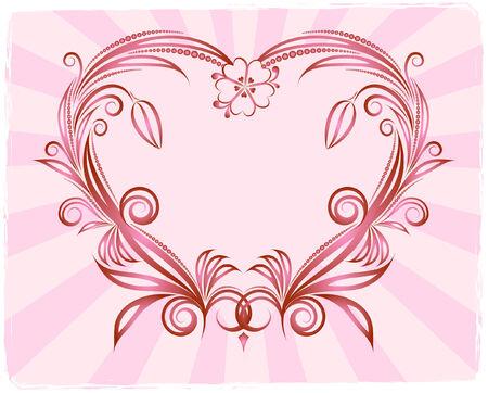 corazones: Hearts background