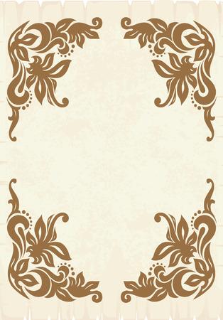 Vintage vector background. Stock Vector - 3305933