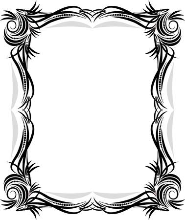 Klassiek vector frame.