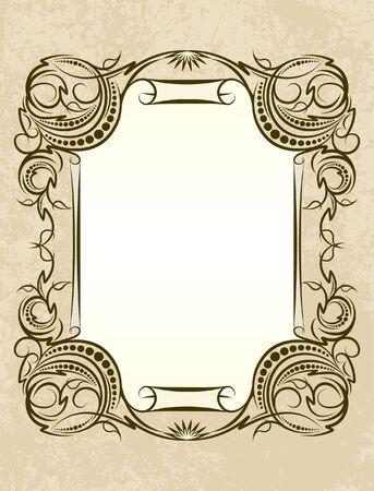 Retro styled  background. Stock Vector - 7099862