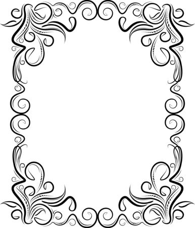 Retro-styled frame. Stock Vector - 7099721