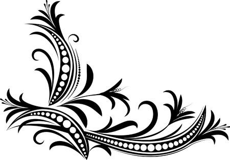 ringlet: Decorative branch.