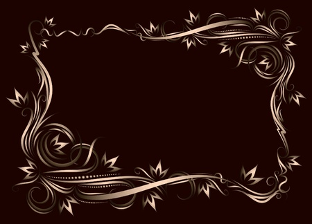 Decorative frame.  Stock Vector - 9929926