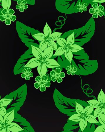 weldless: Floral seamless pattern.
