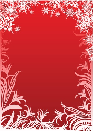 Beautiful Christmas background.  Vector