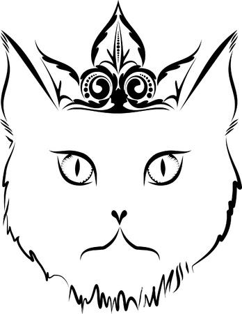 voodoo doll: Cat tattoo.