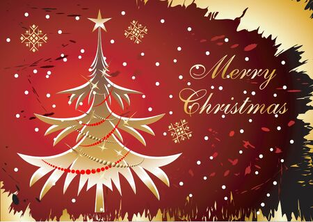 Christmas background. Stock Vector - 9930172