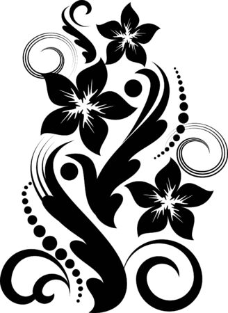 abstract flower  Stock Vector - 9930175
