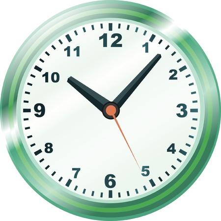 office clock: Reloj elegante Oficina