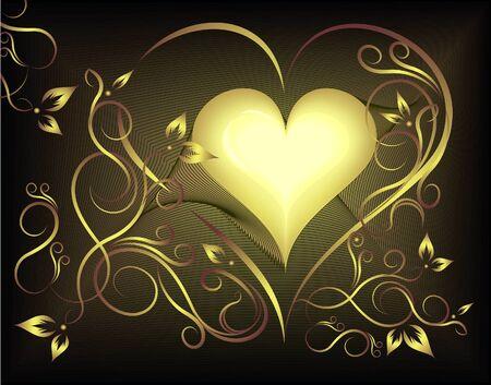 Valentine heart. Vector