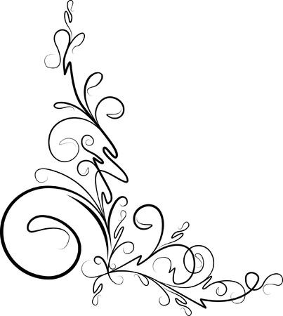 esquineros florales: hermosa esquina floral