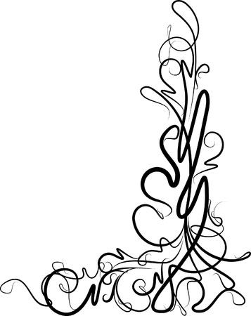 mooie bloemen hoek