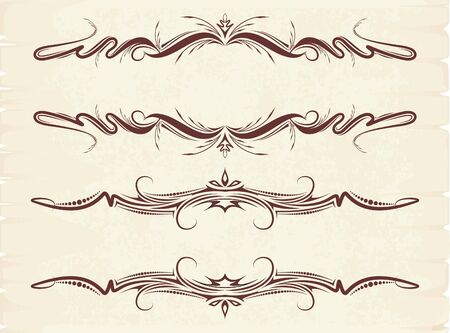 Vintage frames for text Stock Vector - 9930496