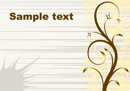 Decorative background for text Vector