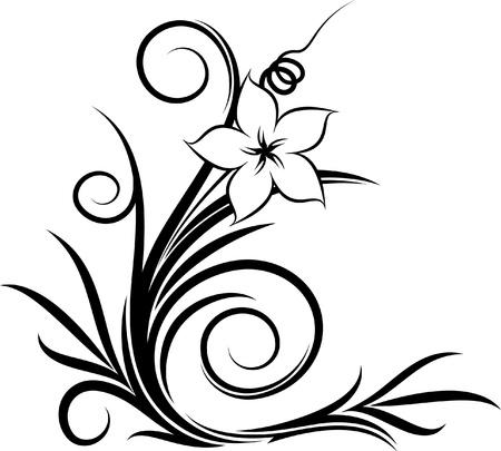 Elegant decorative corner  Stock Vector - 10707108