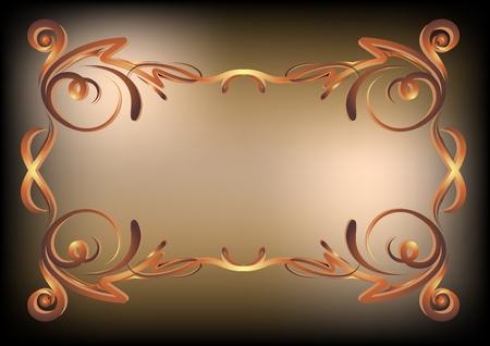 Elegant vintage background  Vector