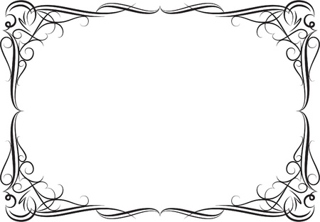 Elegant decorative frame. Stock Vector - 10707251